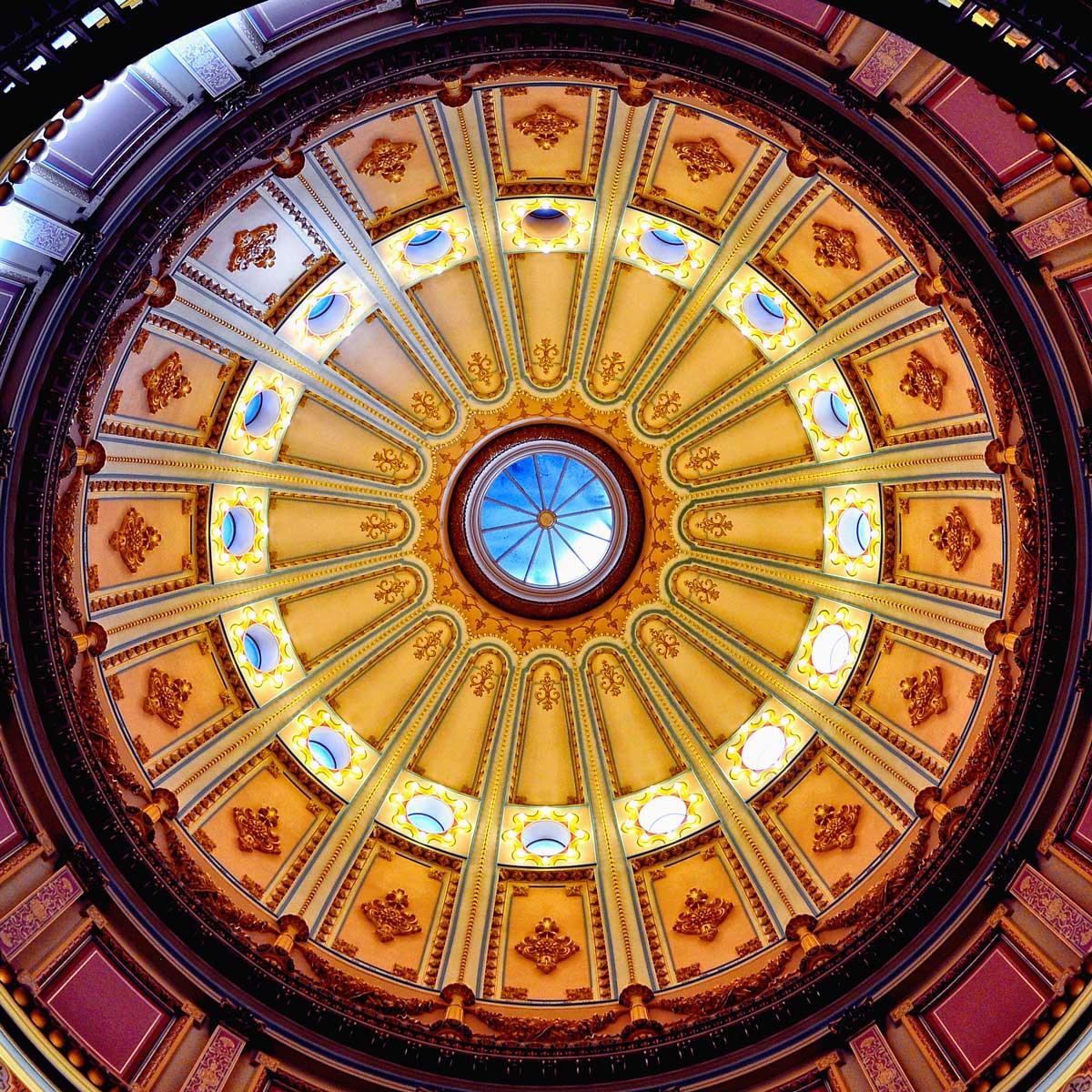 Sacramento Capitol dome